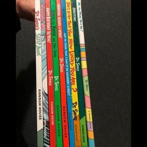 Dr Seuss 9 books